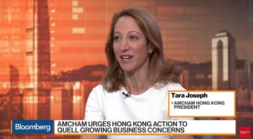 "AmCham in Hong Kong urges government to ""restore business confidence' in wake of protests"