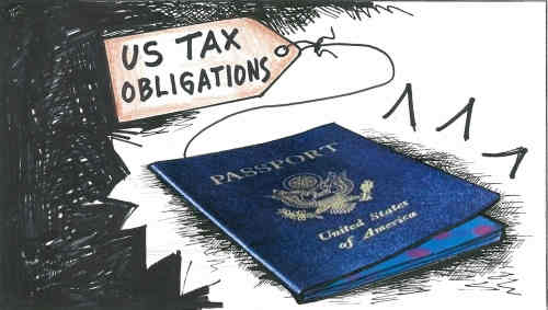 U.S. Tax Court declines to consider US$160,000 passport revocation case, involving New York-resident American