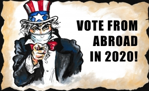 A Reader Asks: 'I'm dying to vote in the U.S. prez election! But will Uncle Sam come after me if I do?'